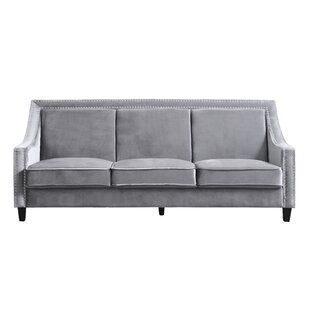 Leather Sofa Nailhead Trim Wayfair