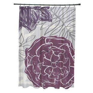 Katrina Shower Curtain by Bungalow Rose