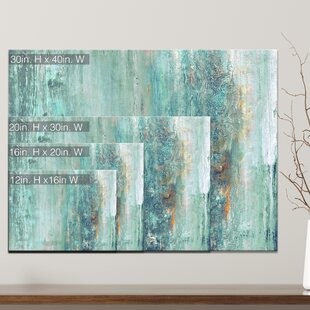 Abstract Spa Wred Graphic Art Print On Canvas