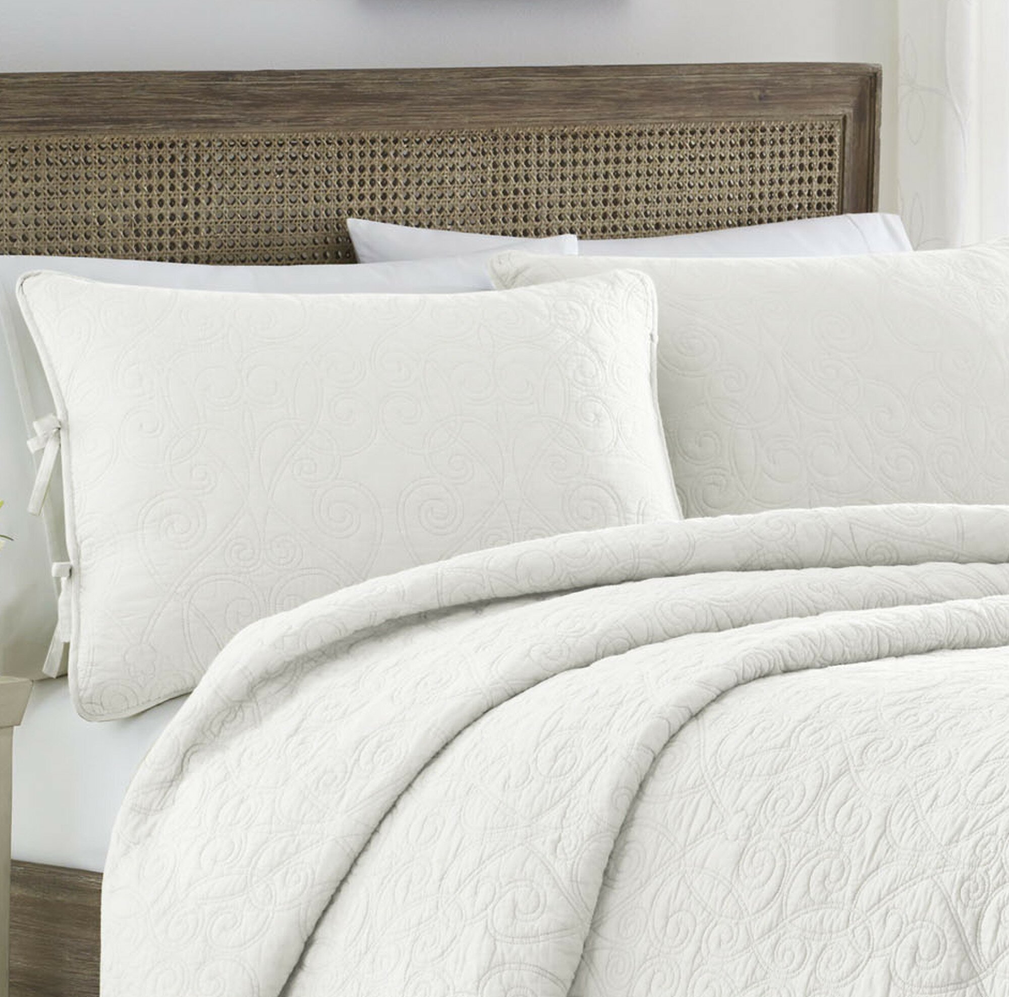 Laura ashley home felicity 100 cotton reversible quilt set by laura laura ashley home felicity 100 cotton reversible quilt set by laura ashley home reviews wayfair gumiabroncs Image collections