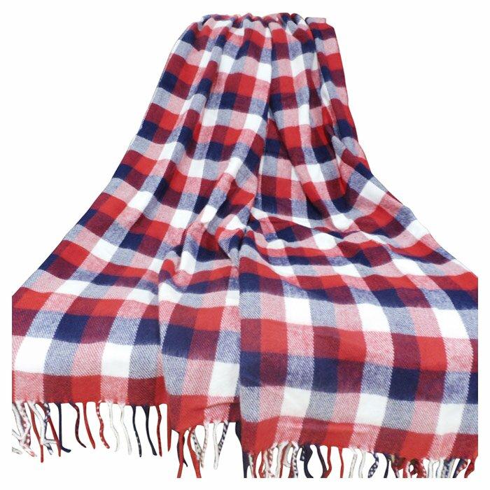 Lavish Home Plaid Throw Blanket Wayfair New Cheap Plaid Throw Blanket