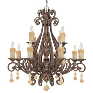 Classic Lighting Riviera 12-Light Chandelier