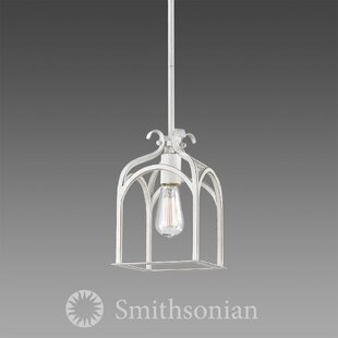 Bryes 1-Light Lantern Pendant by August Grove