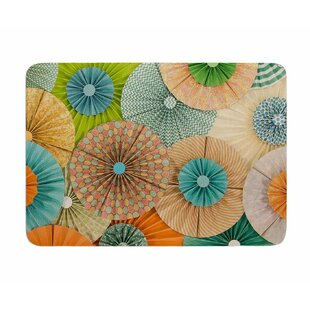 Summer Party by Heidi Jennings Memory Foam Bath Mat By East Urban Home