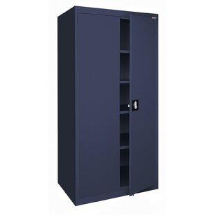 Buy clear Elite Series 2 Door Storage Cabinet by Sandusky Cabinets