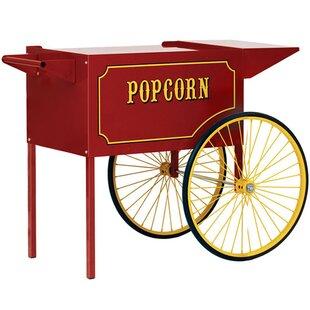 Theater Pop Popcorn Machine Cart
