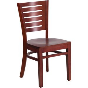 Arnault Solid Wood Dining Chair by Andover Mills