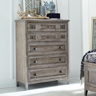 Corn Wood 5 Drawer Chest by DarHome Co Best #1