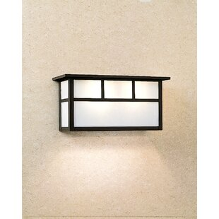 Order Huntington 2-Light Outdoor Flush Mount By Arroyo Craftsman