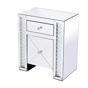 Abernathy 1 Drawer Nightstand