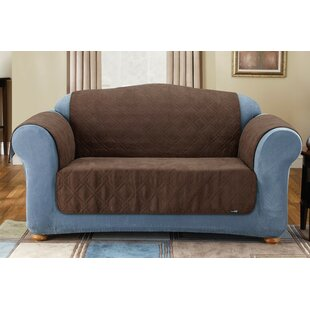 Comparison Soft Suede Box Cushion Sofa Slipcover by Sure Fit Reviews (2019) & Buyer's Guide