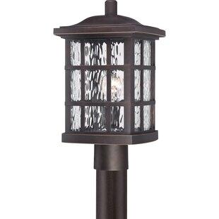 Reviews Lockett 1-Light LED Lantern Head By Brayden Studio