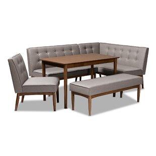 Bopp Mid-Century Modern Upholstered 5 Pie..