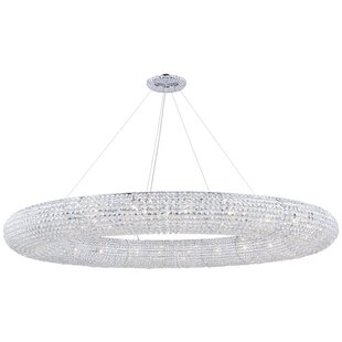 Orren Ellis Hieronymus 30-Light Crystal Chandelier