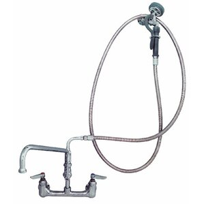 Wall Mounted Pre Rinse Utility Sink Faucet