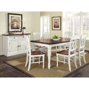 Giulia 7 Piece Extendable Dining Set by Laurel Foundry Modern Farmhouse New