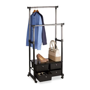 Mcnelly 72cm Wide Clothes Rack By Rebrilliant