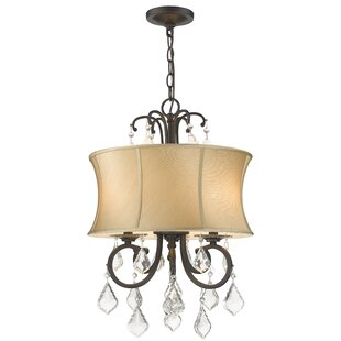 House of Hampton Freeman 3-Light Drum Chandelier