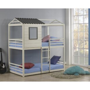Reviews Sharpton House Twin Over Twin Bunk Bed by Harriet Bee Reviews (2019) & Buyer's Guide