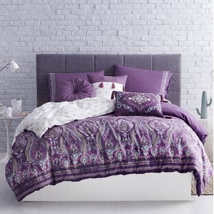 Bateman Cotton Reversible Duvet Cover Set