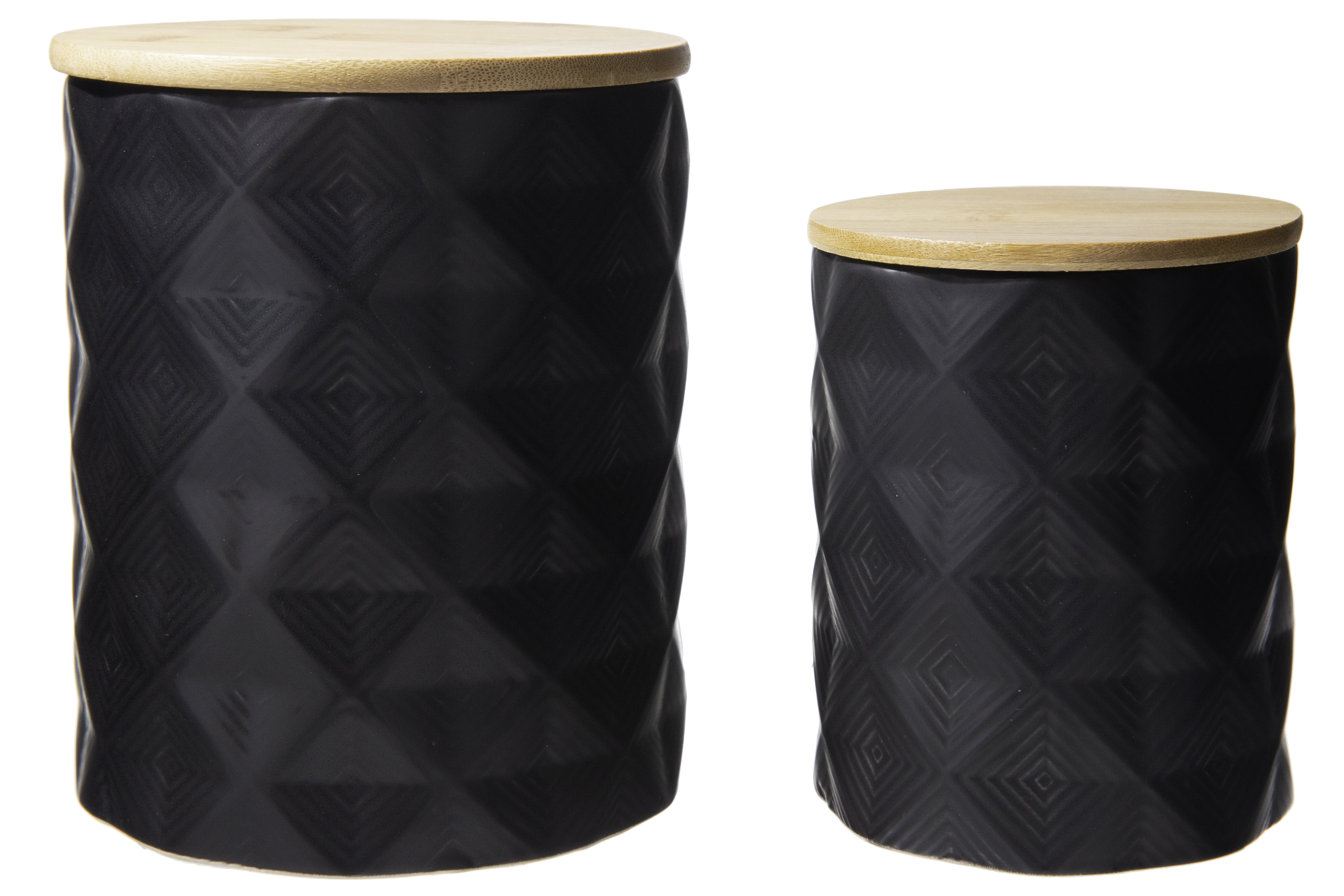 Corrigan Studio Ceramic 2 Piece Kitchen Canister Set Wayfair