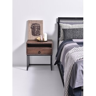 Ranee 1 Drawer Bedside Table By 17 Stories
