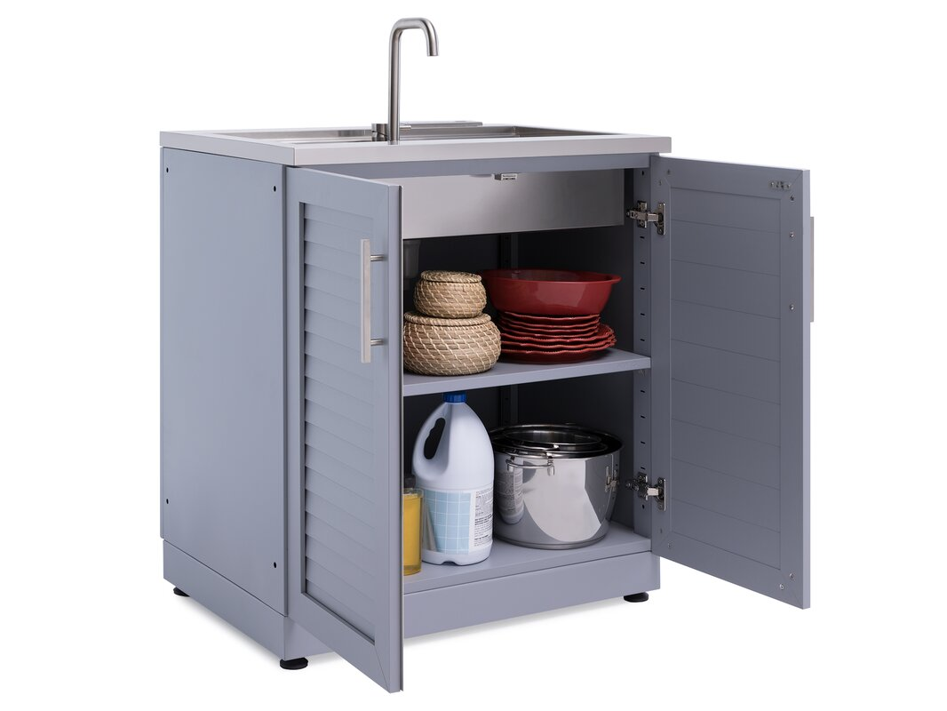 NewAge Products Outdoor Kitchen Sink Cabinet & Reviews | Wayfair