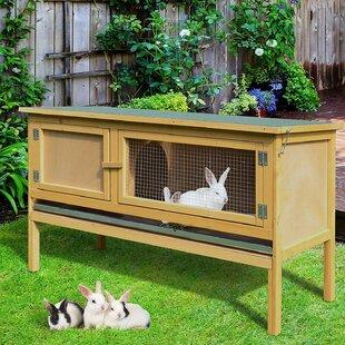 Dorthy 1- Story Raised Rabbit Hutch by Archie & Oscar
