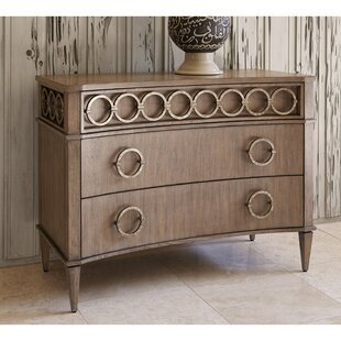 Ring 3 Drawer Accent Chest by Ambella Home Collection