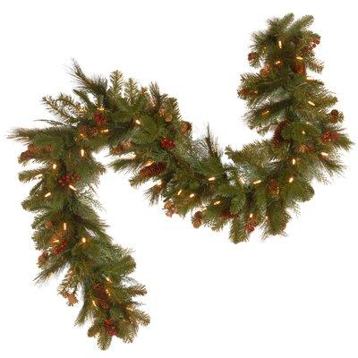 Joss Main9 Decorative Pre Lit Pine Garland Dailymail