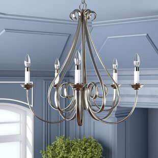 Alcott Hill Cayman 5-Light Candle Style Chandelier