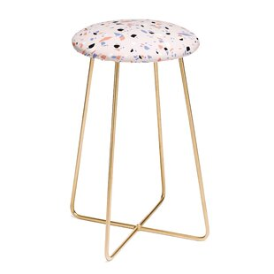 Emanuela Carratoni Sweet Terrazzo 30 Bar Stool by East Urban Home Find
