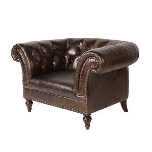 Lazzaro Leather Jaffna Chesterfield Chair