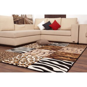 USA Chicago Brown Area Rug Part 79