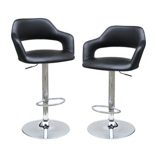 Adjustable Height Swivel Bar Stool by Bes..