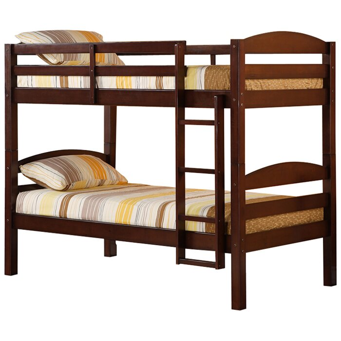 Viv Rae Abby Twin Over Twin Bunk Bed Amp Reviews Wayfair Ca