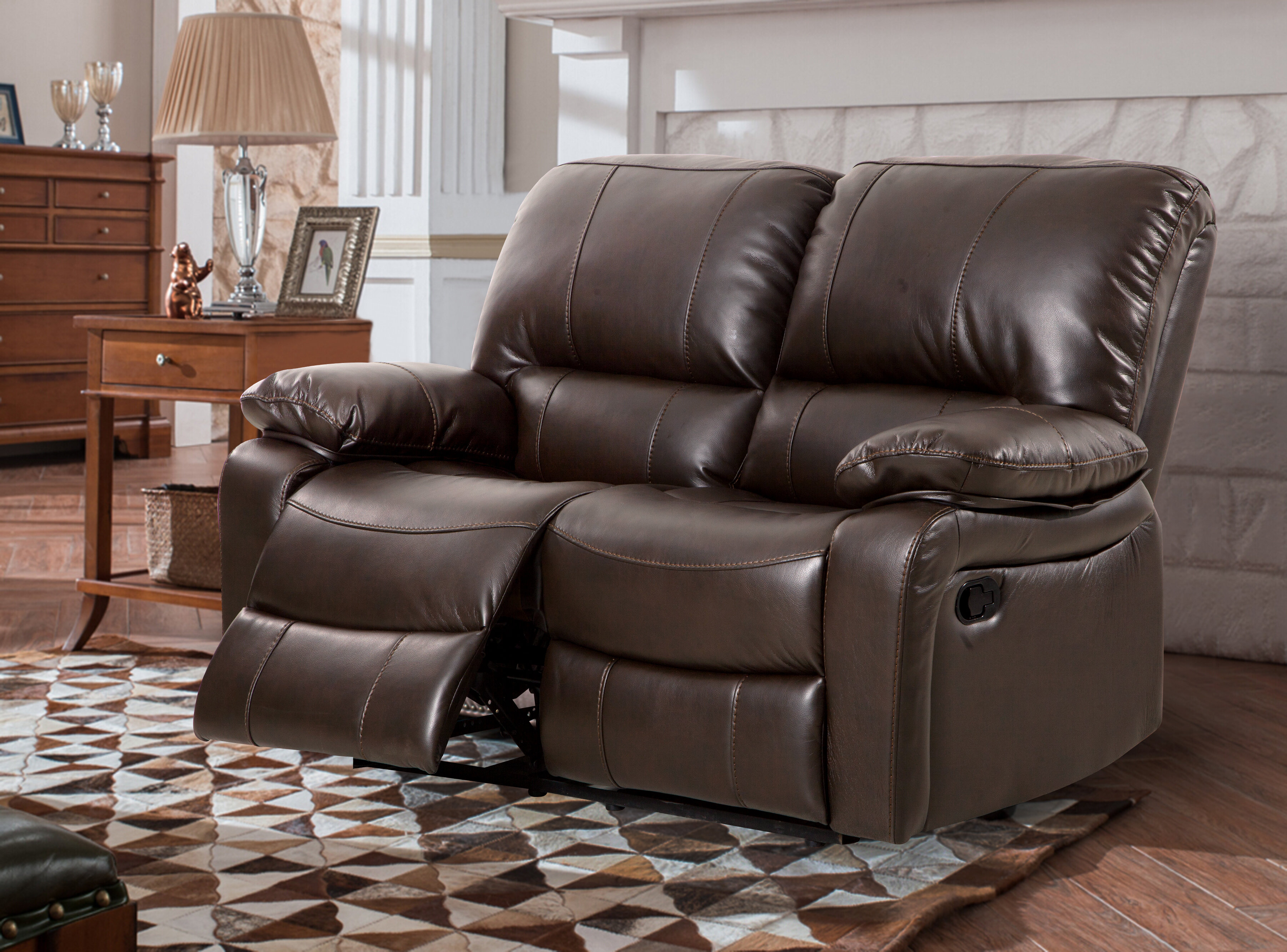 Awesome Koval Breathing Reclining Loveseat Machost Co Dining Chair Design Ideas Machostcouk