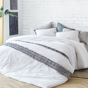 Shameka Washed Percale Duvet Cover