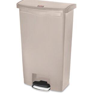 Slim Jim 18 Gallon Step-On Trash Can
