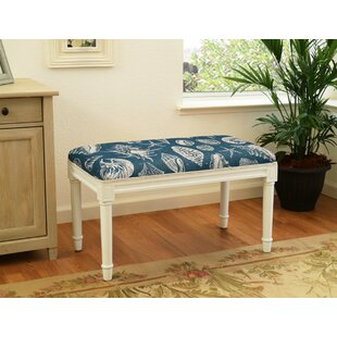 Dedrik Seashells Wood Bench