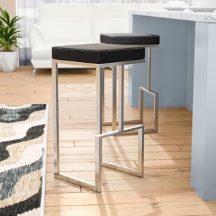 Henrique 29.5 Bar Stool (Set of 2) Wade Logan