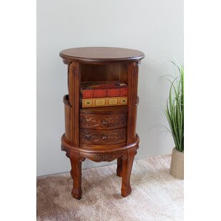 Best Choices Windsor Hand Carved Wood Telephone Stand ByInternational Caravan
