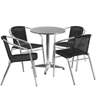 Nitesh 5 Piece Dining Set by Red Barrel S..