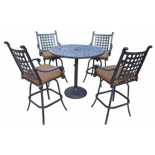 Arness 8 Piece Bar Height Dining Set by Darby Home Co Herry Up