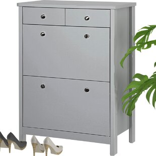12 Pair Shoe Storage Cabinet By ClassicLiving