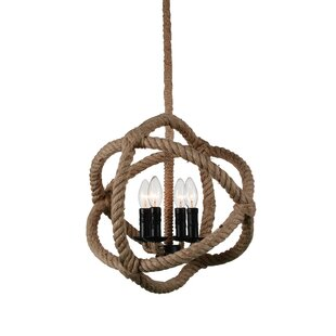 Longshore Tides Catharine 4-Light Globe Chandelier