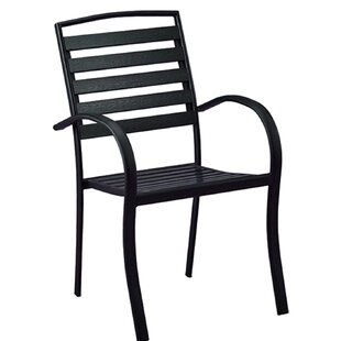 Galicia Modern Contemporary Stacking Patio Dining Chair