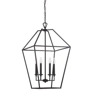 Gracie Oaks Padminie 6-Light Foyer Pendant