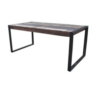 Whitetop Dining Table by Loon Peak Today Only Sale