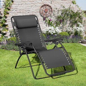 Ellendale Reclining Zero Gravity Chair with Cushion